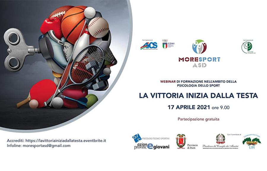 La Vittoria inizia dalla testa – 17 aprile 2021 – ore 9.00